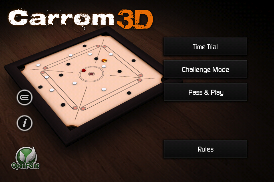 Screenshot Carrom 3D